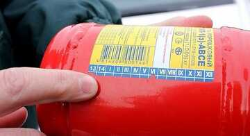 Срок службы огнетушителей