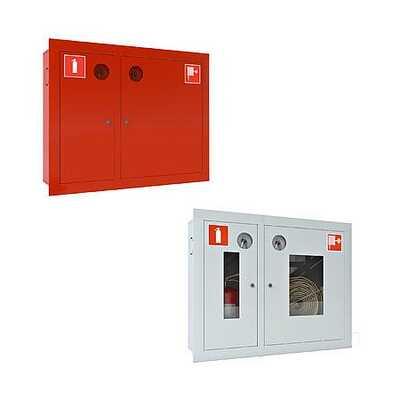 Пожарный шкаф ШПК - 315 для пожарного рукава и огнетушителя