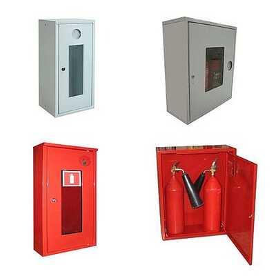Пожарные шкафы ШПО для огнетушителей