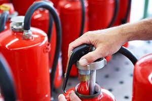 Замена ЗТУ  на порошковых огнетушителях ОП50 - ОП100
