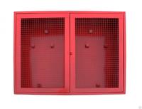 Щит пожарный металлический (1250х1000х300) (распашные двери) сетка